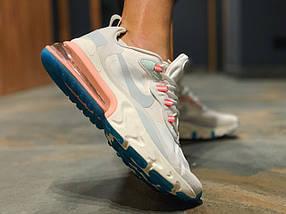 Женские кроссовки в стиле NIKE AIR MAX 270 REACT, фото 3