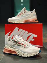 Женские кроссовки в стиле NIKE AIR MAX 270 REACT, фото 2