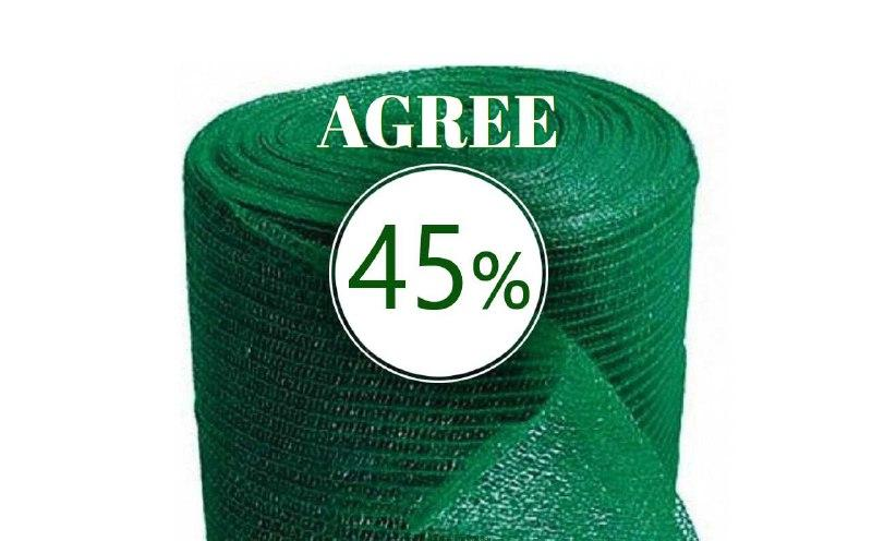 Сетка затенение AGREE - 45%  3м*50м