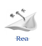 Умывальник настенныйй керамический Rea Chloe Slim белый