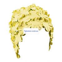 Шапочка для плавания BECO 7430 22 желтые цветы