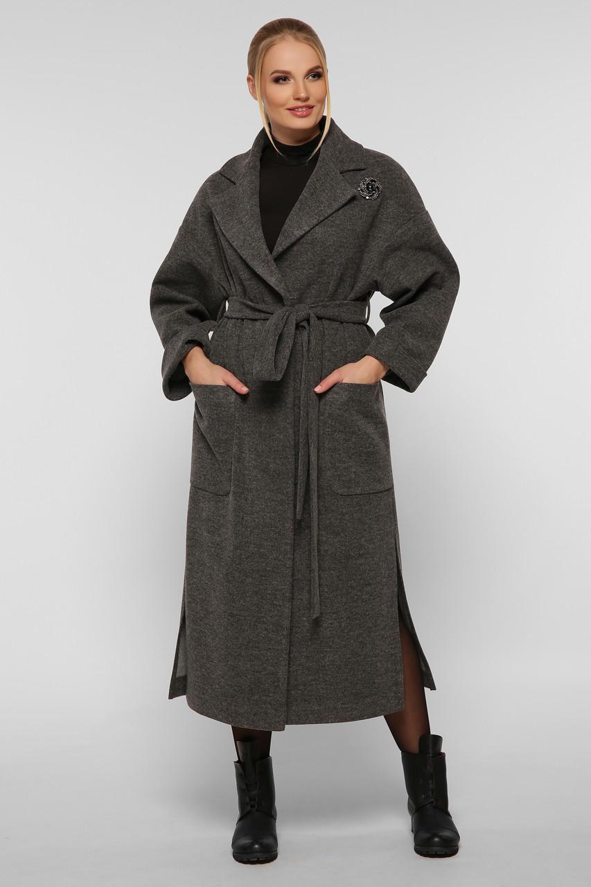 Пальто женское  свободного стиля Алеся