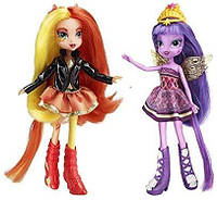Куклы Май Литл Пони Сансет Шиммер и Твайлайт Спаркл My Little Pony Sunset Shimmer and Twilight Sparkle A3997
