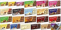 Варианты шоколада Schogetten