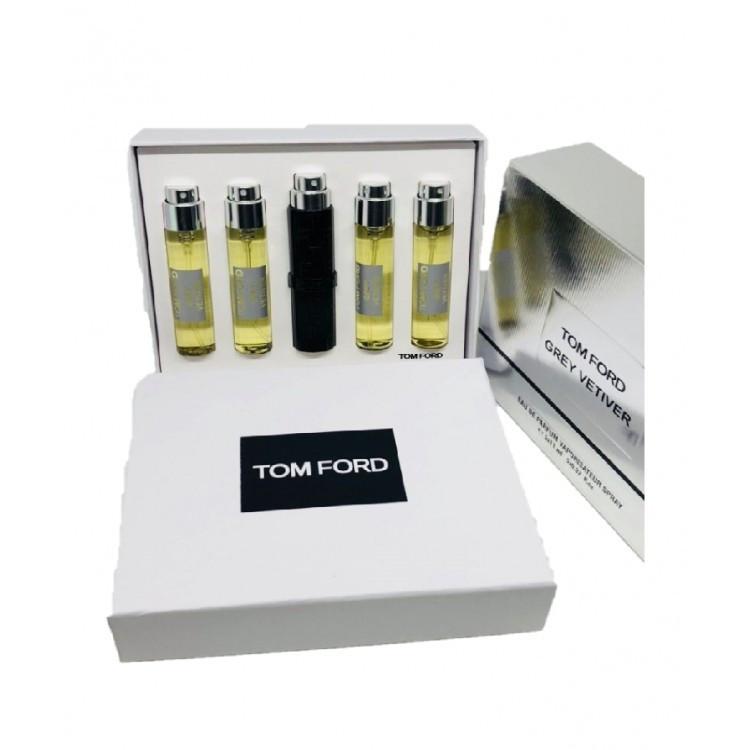 Подарочный набор мини парфюмов Tom Ford Grey Vetiver мужской  5*11 мл