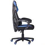 Кресло VR Racer Radical Taylor черный/синий, Бесплатная доставка, фото 3