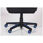 Кресло VR Racer Radical Taylor черный/синий, Бесплатная доставка, фото 10