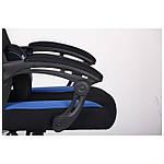 Кресло VR Racer Radical Taylor черный/синий, Бесплатная доставка, фото 9