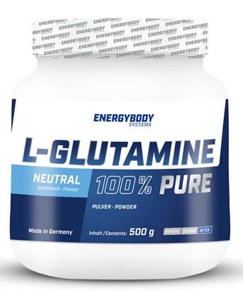 Аминокислоты EnergyBody Systems Glutamine Глютамин Л-Глютамин