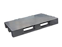 Пластиковый поддон SPK80120K (1200х800хН150мм), нагрузка динамическая/статическая 1250/4000 кг, вес 10 кг