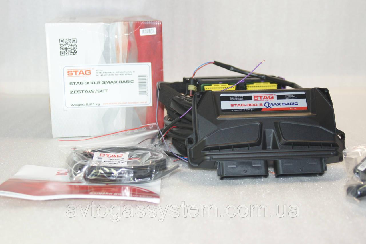 Электроника Stag-300 QMax Basiс 8 цилиндров