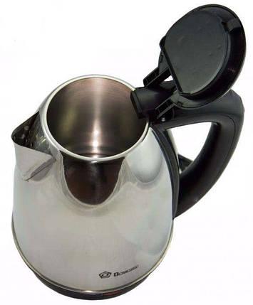 Дисковый электрический чайник Domotec 5002 #S/O, фото 2