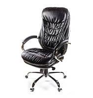 Кресло Валенсия Soft АКЛАС CH MB кожа чёрное