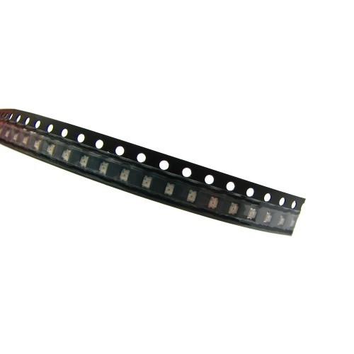 100x 0805 SMD LED светодиод, красный