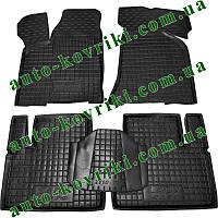 Резиновые коврики в салон Lada 2110, 2111, 2112 (Avto-Gumm) Автогум