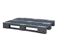 Пластиковый поддон SPK8012015A (1200х800хН150мм), нагрузка динамическая/статическая  кг, вес 13.5 кг
