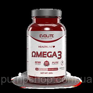 Омега-3 Evolite Nutrition Omega-3 100 капс.