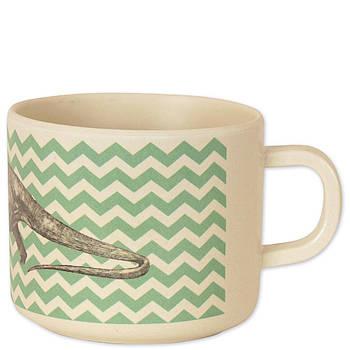 Чашка из бамбукового волокна Динозавры Eco