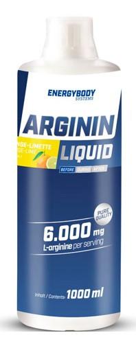 Аргинин EnergyBody Systems L-Arginine Liquid XXL 1000 ml