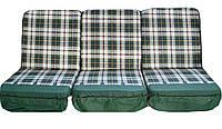 Комплект поролоновых подушек для садовой качели GreenGard П-002