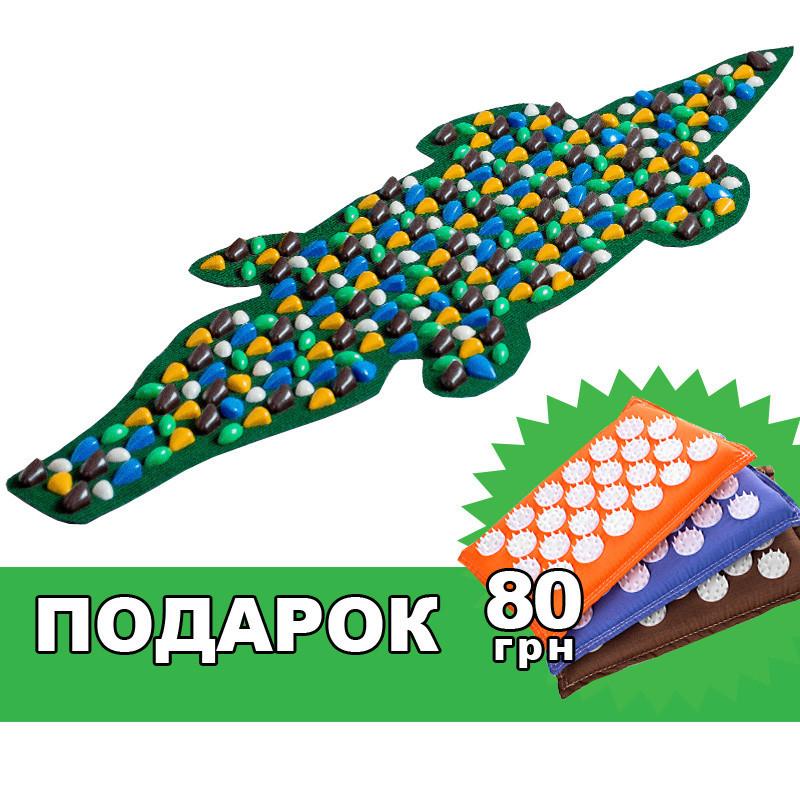 """Коврик массажный """"Крокодил"""" 150*50 см"""