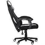 Кресло VR Racer Radical Taylor черный/белый, Бесплатная доставка, фото 5