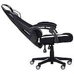 Кресло VR Racer Radical Taylor черный/белый, Бесплатная доставка, фото 6