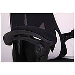 Кресло VR Racer Radical Taylor черный/белый, Бесплатная доставка, фото 8
