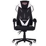 Кресло VR Racer Radical Taylor черный/белый, Бесплатная доставка, фото 2