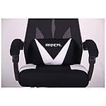 Кресло VR Racer Radical Taylor черный/белый, Бесплатная доставка, фото 9