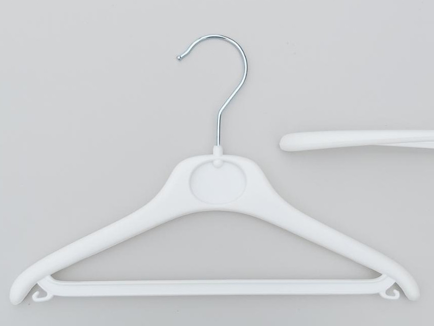Плечики детские пластмассовые V-DY30 белые, 30 см