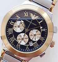Часы EMPORIO ARMANI хронограф.реплика Класс ААА