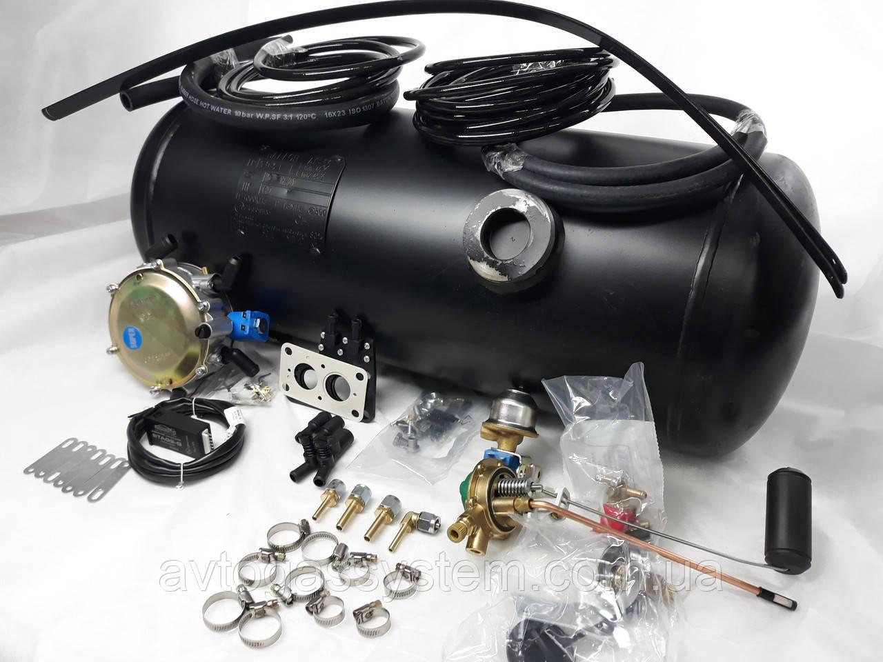 Комплект ГБО 2 поколения Lovato карбюратор дааз,озон,вебер + 50л.