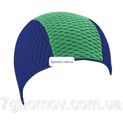Шапочка для плавания и бассейна BECO 7330 78 сине-зеленая, фото 2