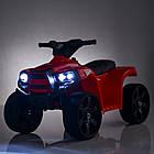 Детский электрический квадроцикл BAMBI  M 3893 EL-3 красный, фото 2