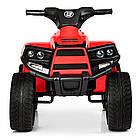 Детский электрический квадроцикл BAMBI  M 3893 EL-3 красный, фото 4