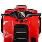 Детский электрический квадроцикл BAMBI  M 3893 EL-3 красный, фото 6