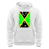 Стильный Балахон худи Ямайский флаг