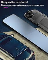 2 в 1 Автомобільний відеореєстратор+ камера заднього виду! Карта пам'яті на 16 ГБ В ПОДАРУНОК!, фото 3