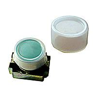 Ковпачок силіконовий прямокутний для захисту кнопок серії PB2 -ВW8365 червоно-зелена з підсвіткою