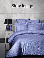 Постельное белье First choice Satin Жаккард Siray indigo