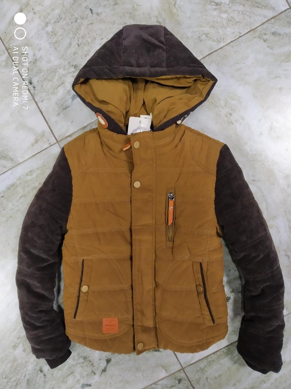 Теплая   куртка на  мальчика  128 см