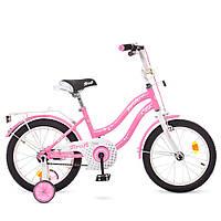 Велосипед 18 дюймов розовый