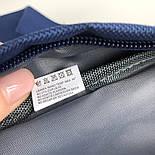 Поясная сумка Kanken Fjällräven Ulvo Hip Pack Medium синий. Живое фото (Реплика ААА+), фото 7