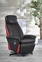 Крісло розкладне CAMARO чорно-червоний (Halmar)