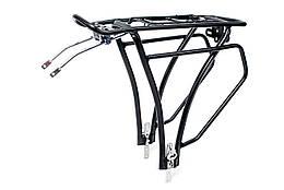Багажник AL под велобаул регулируемое крепление KAIWEI KW-652-03 (черн.)