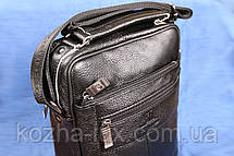 Мужская кожаная сумка, натуральная кожа, фото 2