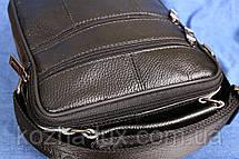 Мужская кожаная сумка, натуральная кожа, фото 3