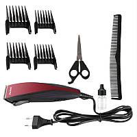 Электрическая машинка ,триммер, для стрижки волос Kemei KM-6358 (KM6358)