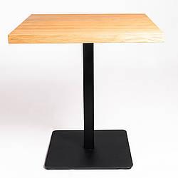 Столик для завтрака в кафе бар ресторан из массива дерева и металла